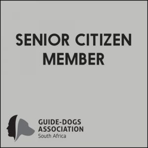 South African Guide-Dogs Association For The Blind Senior Citizen Membership