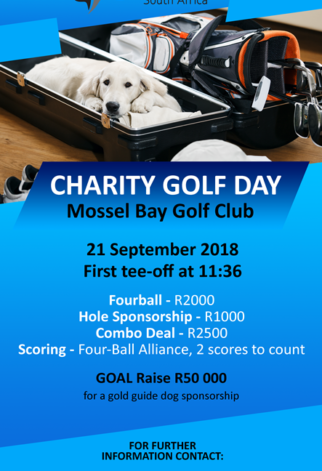 Mossel Bay Golf Day Mailer