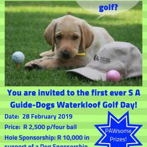 Guide Dogs 2019 Waterkloof Golf Day